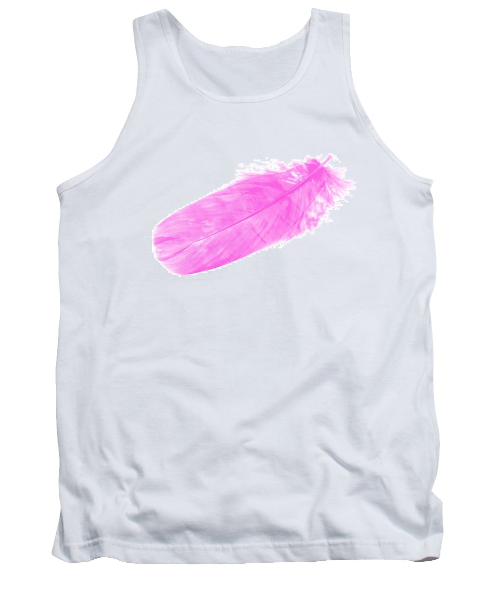 Pink Goose Tank Top featuring the photograph Pink Goose by Steve Purnell