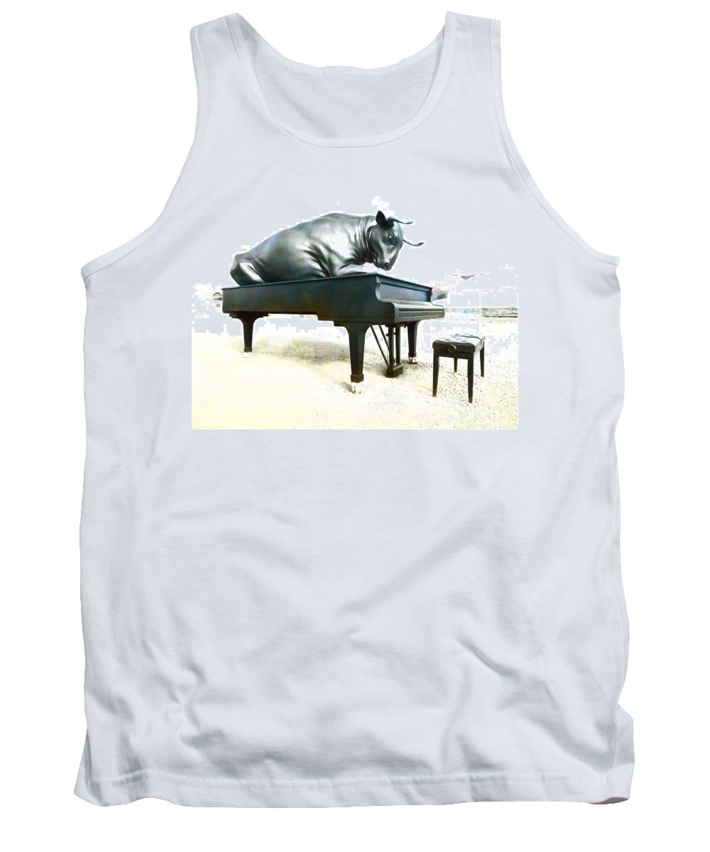 Artist Tank Top featuring the photograph Playing The Minute Waltz by Steve Taylor