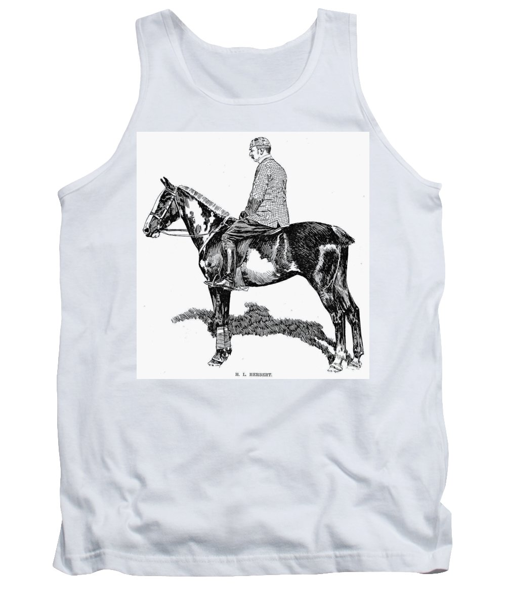 1891 Tank Top featuring the photograph Polo, 1891 by Granger