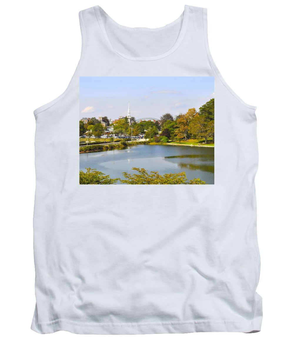 Portsmouth Tank Top featuring the photograph Portsmouth Nh Pnhp by Jim Brage