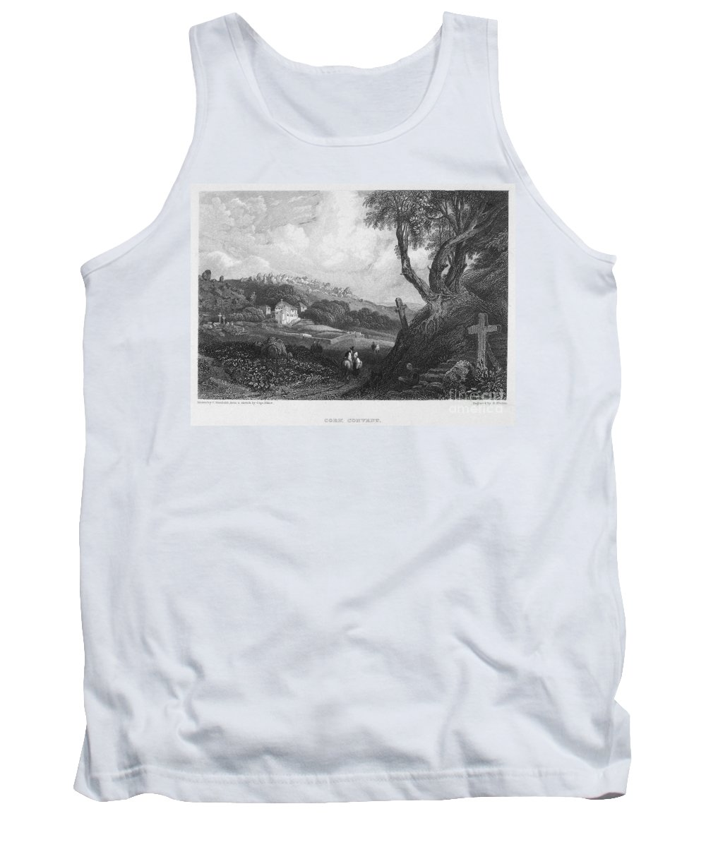 1832 Tank Top featuring the photograph Portugal: Monastery, 1832 by Granger