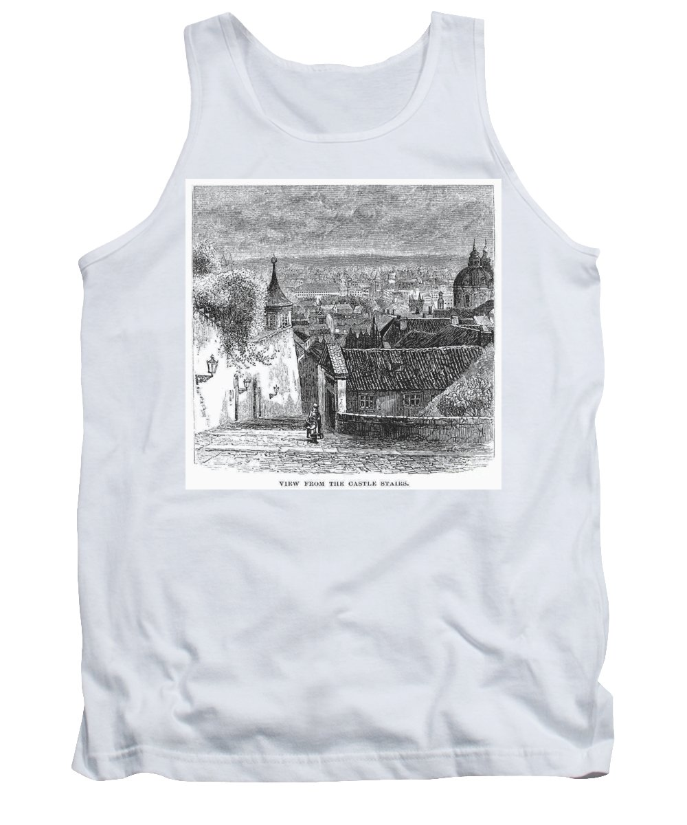 19th Century Tank Top featuring the photograph Prague: Castle Stairs by Granger