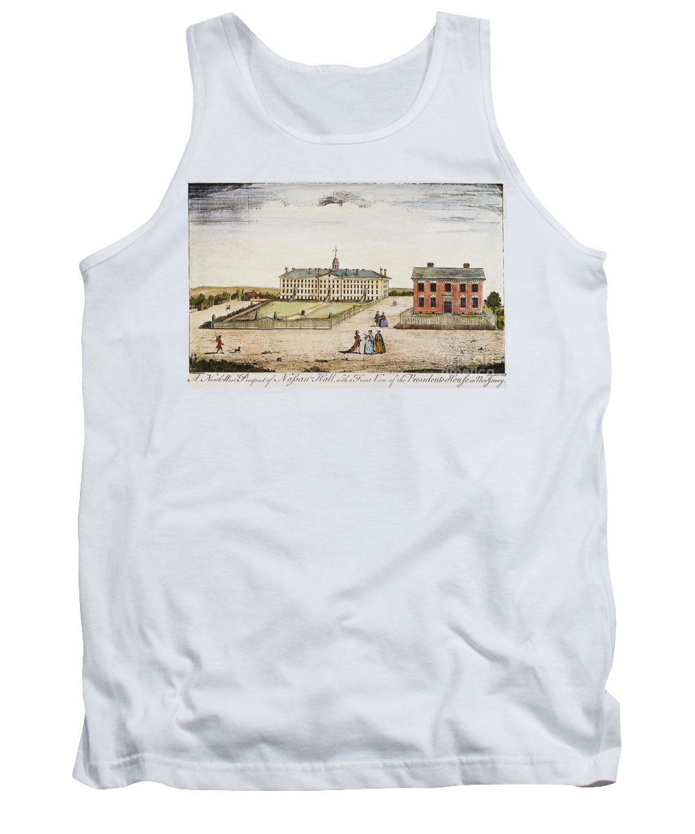 1764 Tank Top featuring the photograph Princeton College, 1764 by Granger