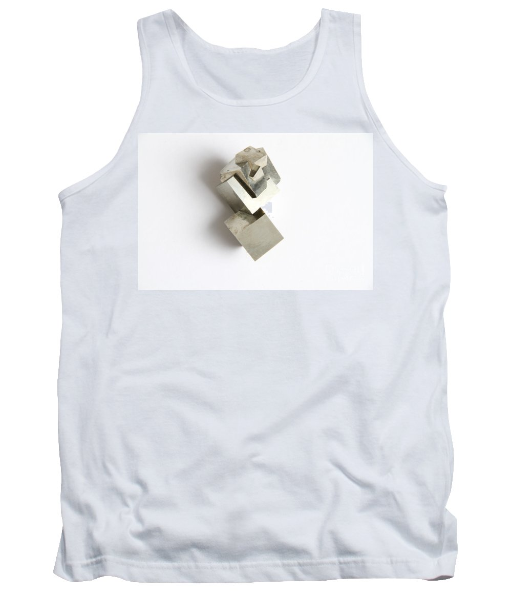 Still Life Tank Top featuring the photograph Pyrite by Photo Researchers