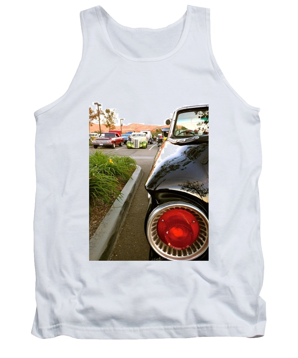 Ford Tank Top featuring the photograph Ranchero Rocket by Customikes Fun Photography and Film Aka K Mikael Wallin