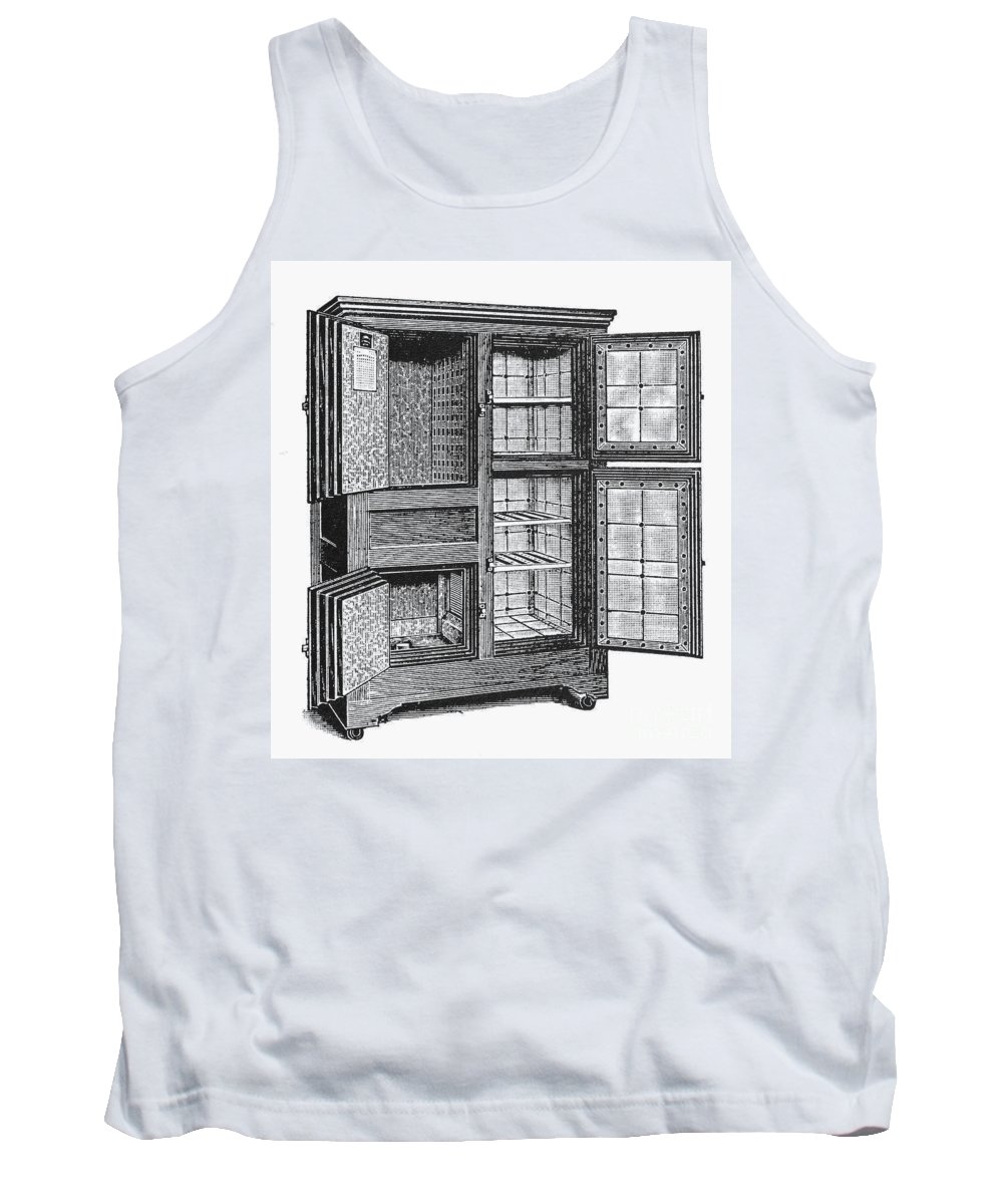 20th Century Tank Top featuring the photograph Refrigerator, C1900 by Granger
