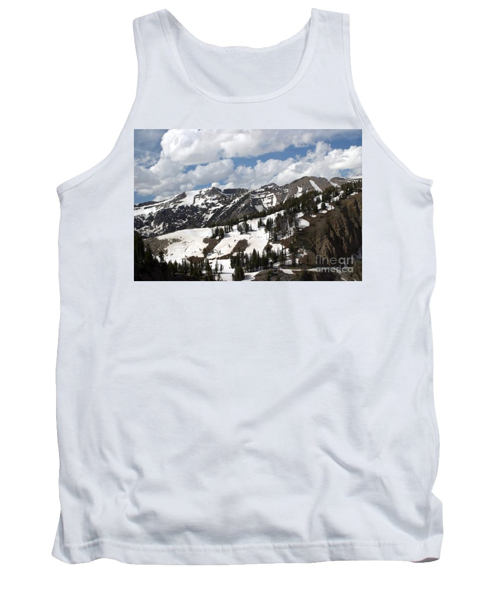 Rendezvous Mountain Tank Top featuring the photograph Rendezvous Mountain 2 by Living Color Photography Lorraine Lynch