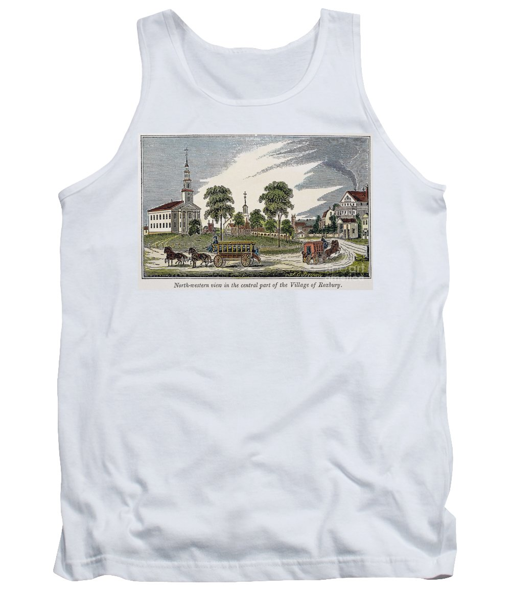 1839 Tank Top featuring the photograph Roxbury, Massachusetts by Granger