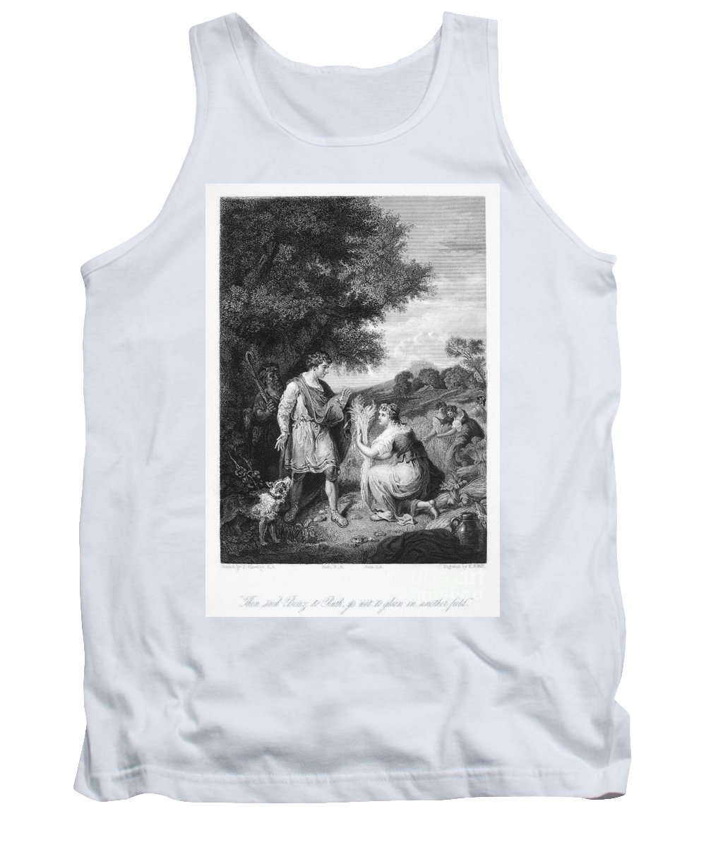1840 Tank Top featuring the photograph Ruth & Boaz by Granger