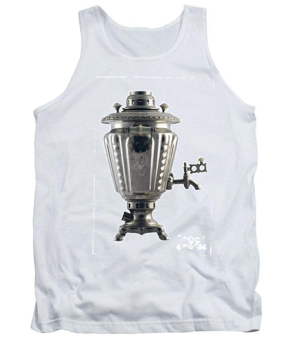Metal Tank Top featuring the photograph Samovar by Michal Boubin