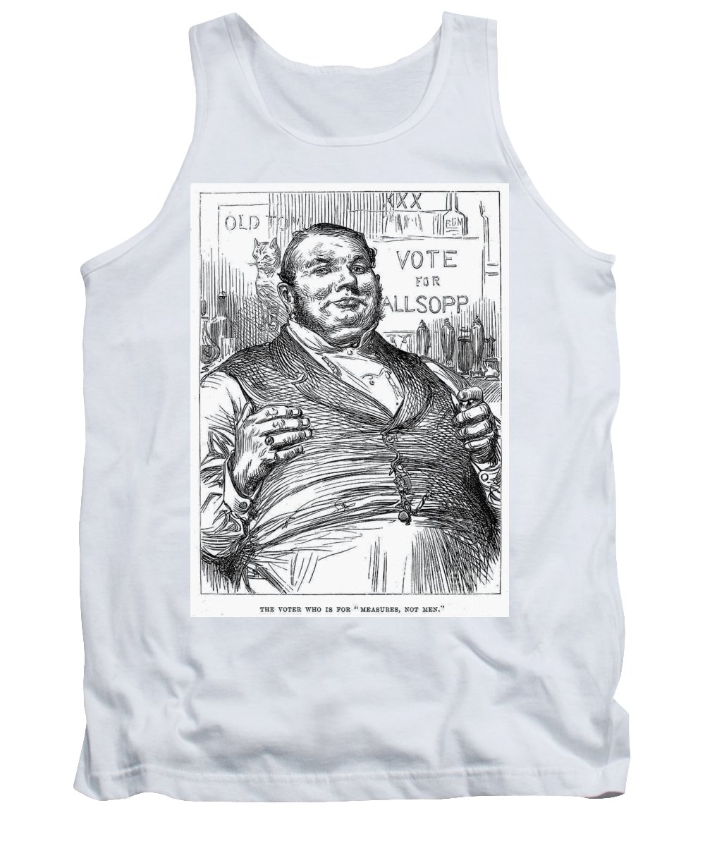 1880 Tank Top featuring the photograph Samuel Charles Allsopp by Granger