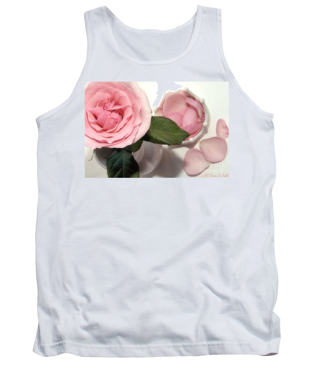 Flower Tank Top featuring the photograph Scent-sation by Susan Smith