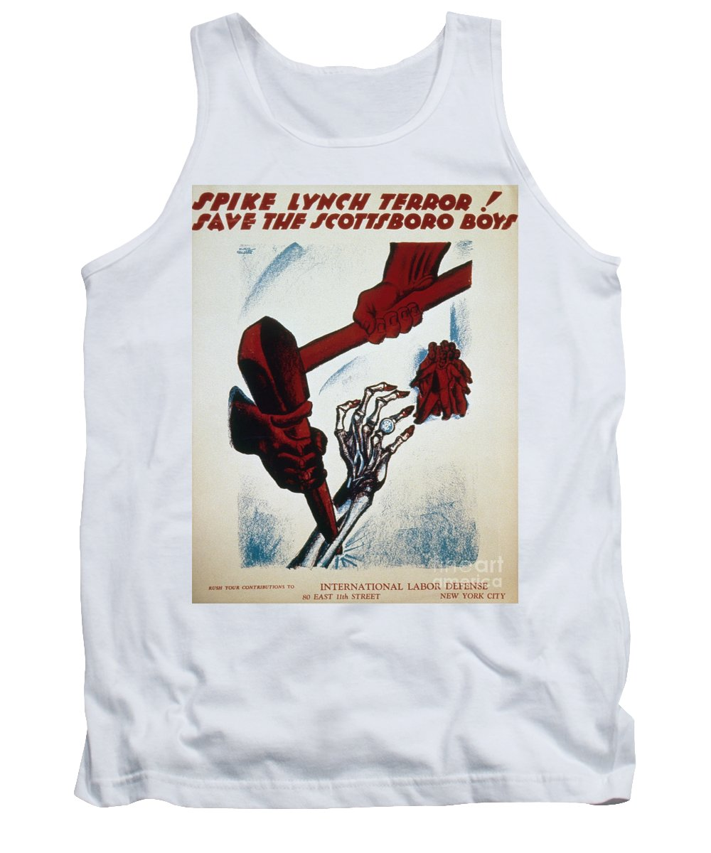 1934 Tank Top featuring the photograph Scottsboro Boys, 1934 by Granger