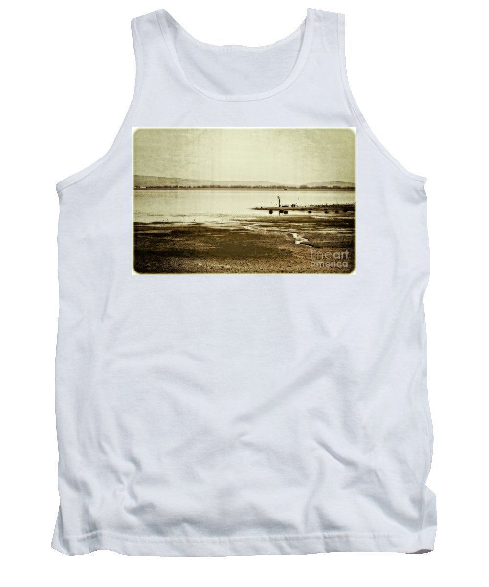 Autumn Tank Top featuring the photograph September Again by Mandy Tabatt