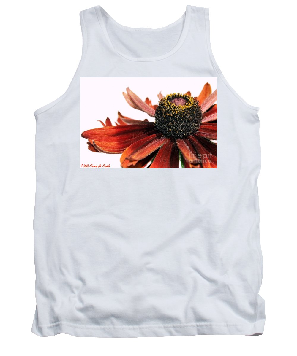Flower Tank Top featuring the photograph Side Eyed by Susan Smith