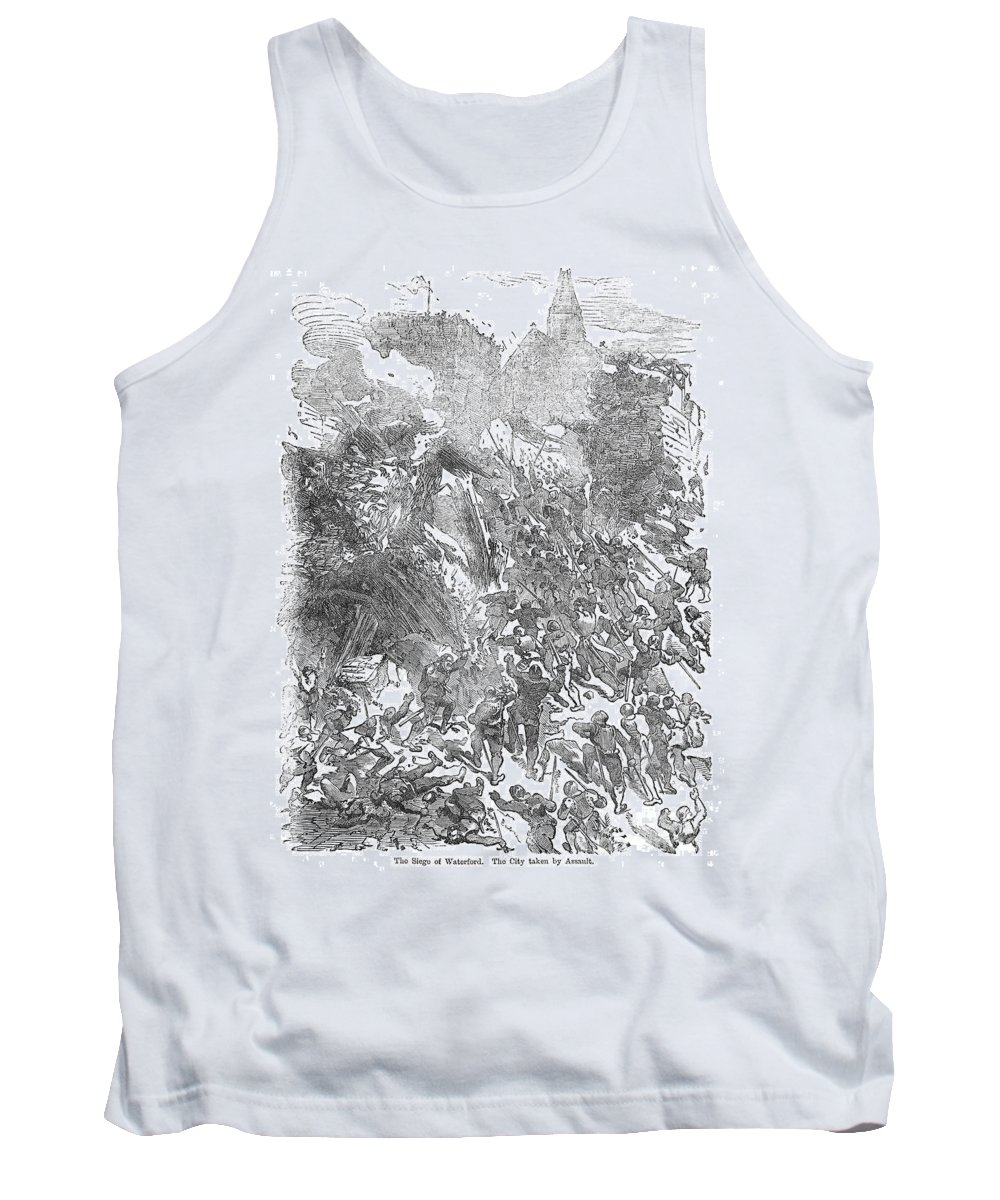 1169 Tank Top featuring the photograph Siege Of Waterford, 1169 by Granger