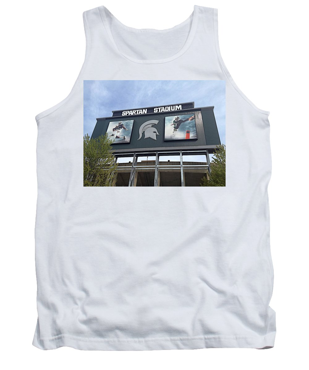 Athletics Tank Top featuring the photograph Signpost by Joseph Yarbrough