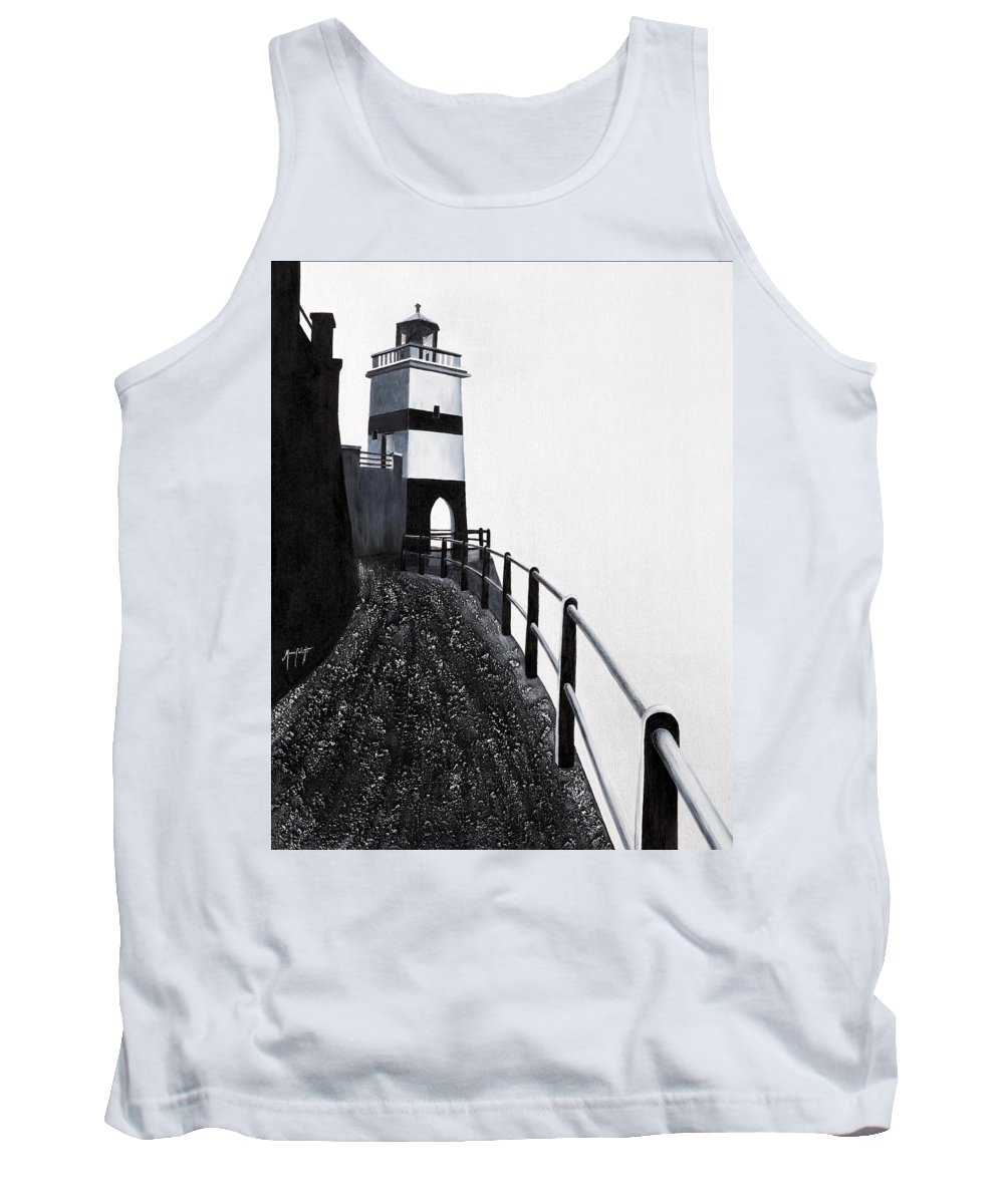 Art Tank Top featuring the painting Silhouette 1 by Mauro Celotti
