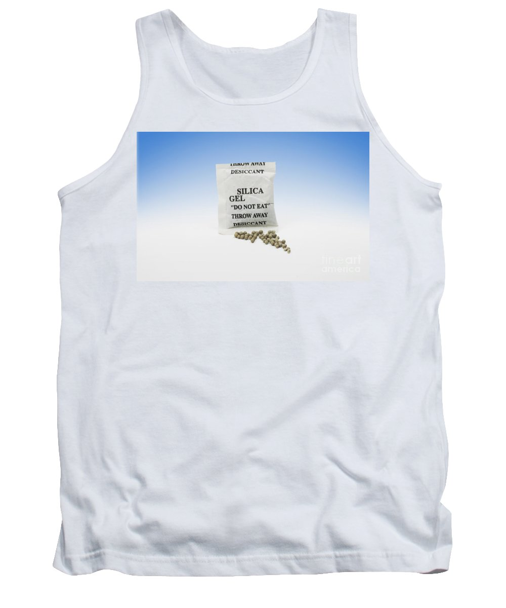 Desiccant Tank Top featuring the photograph Silica Gel by Photo Researchers, Inc.