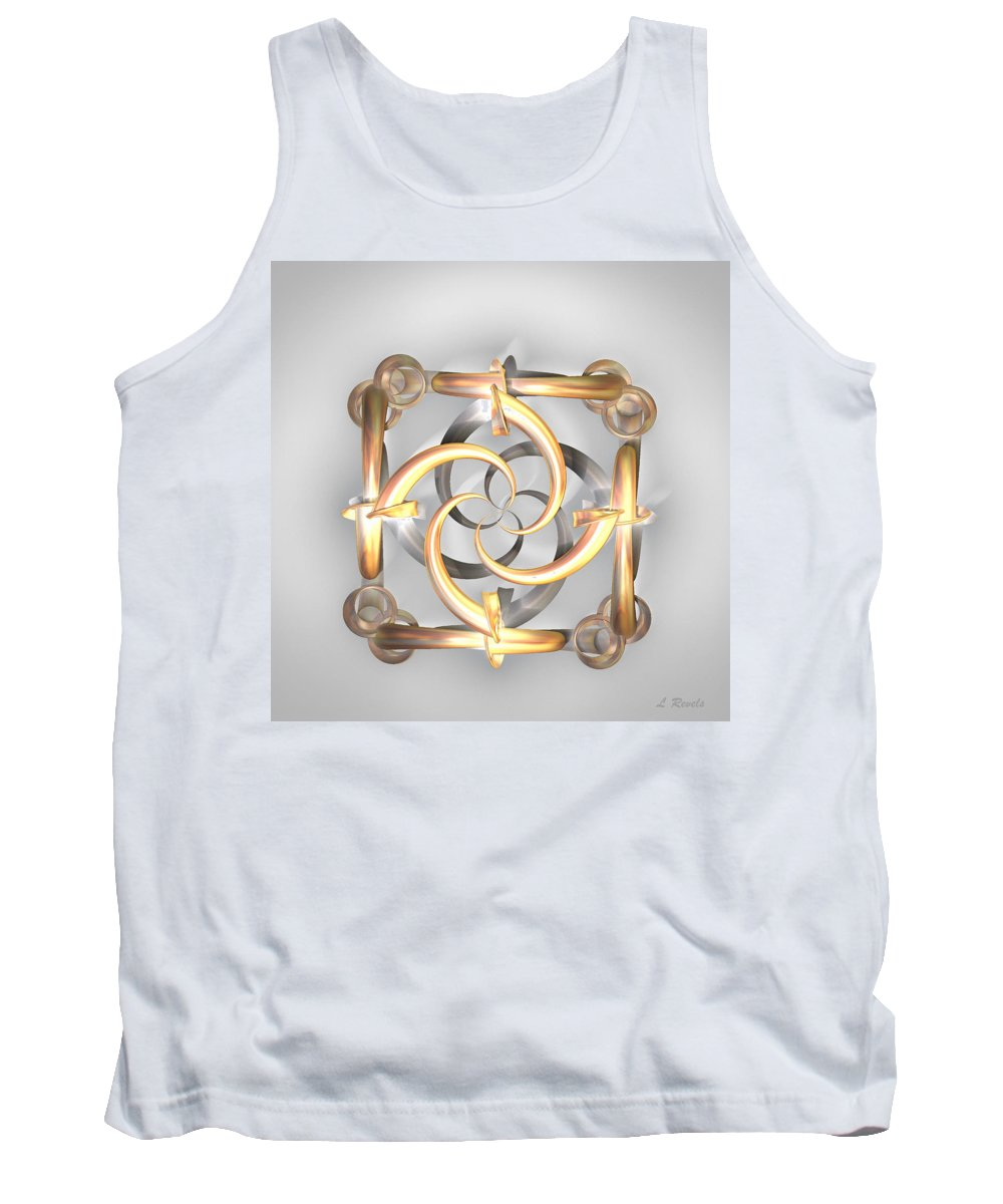 Digital Tank Top featuring the photograph Simplicity by Leslie Revels