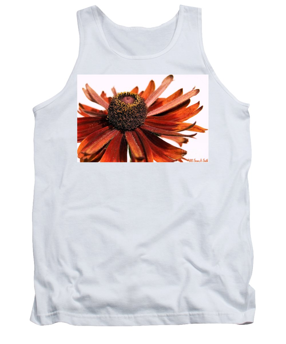 Flowers Tank Top featuring the photograph Single Susan by Susan Smith