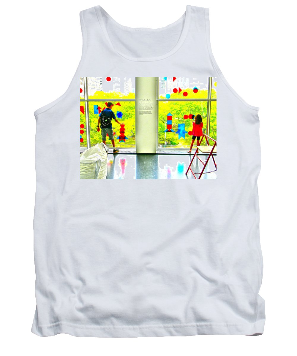 Children Tank Top featuring the photograph Skyline by Marwan George Khoury