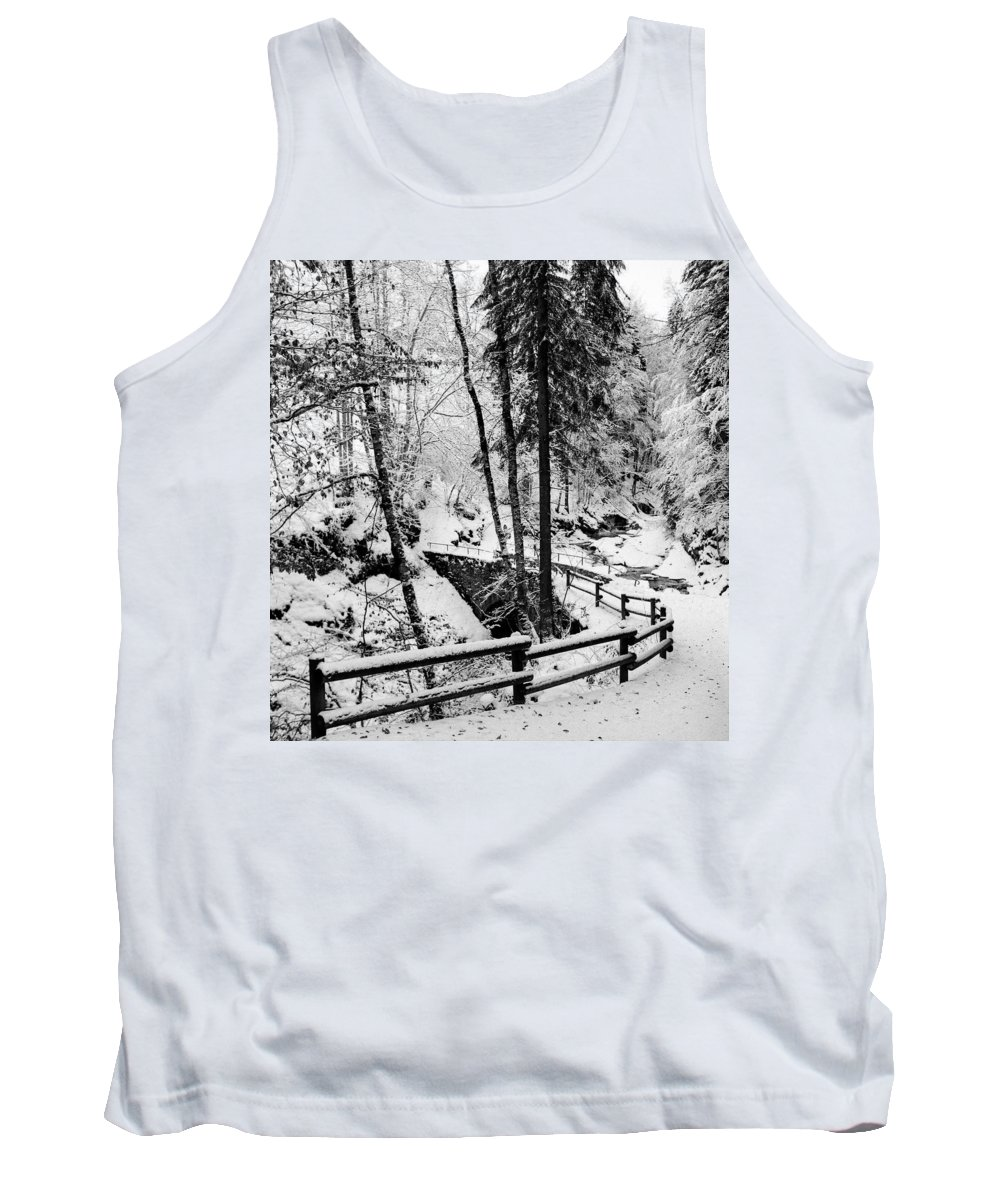 Landscapes Tank Top featuring the photograph Snow by Olivier De Rycke