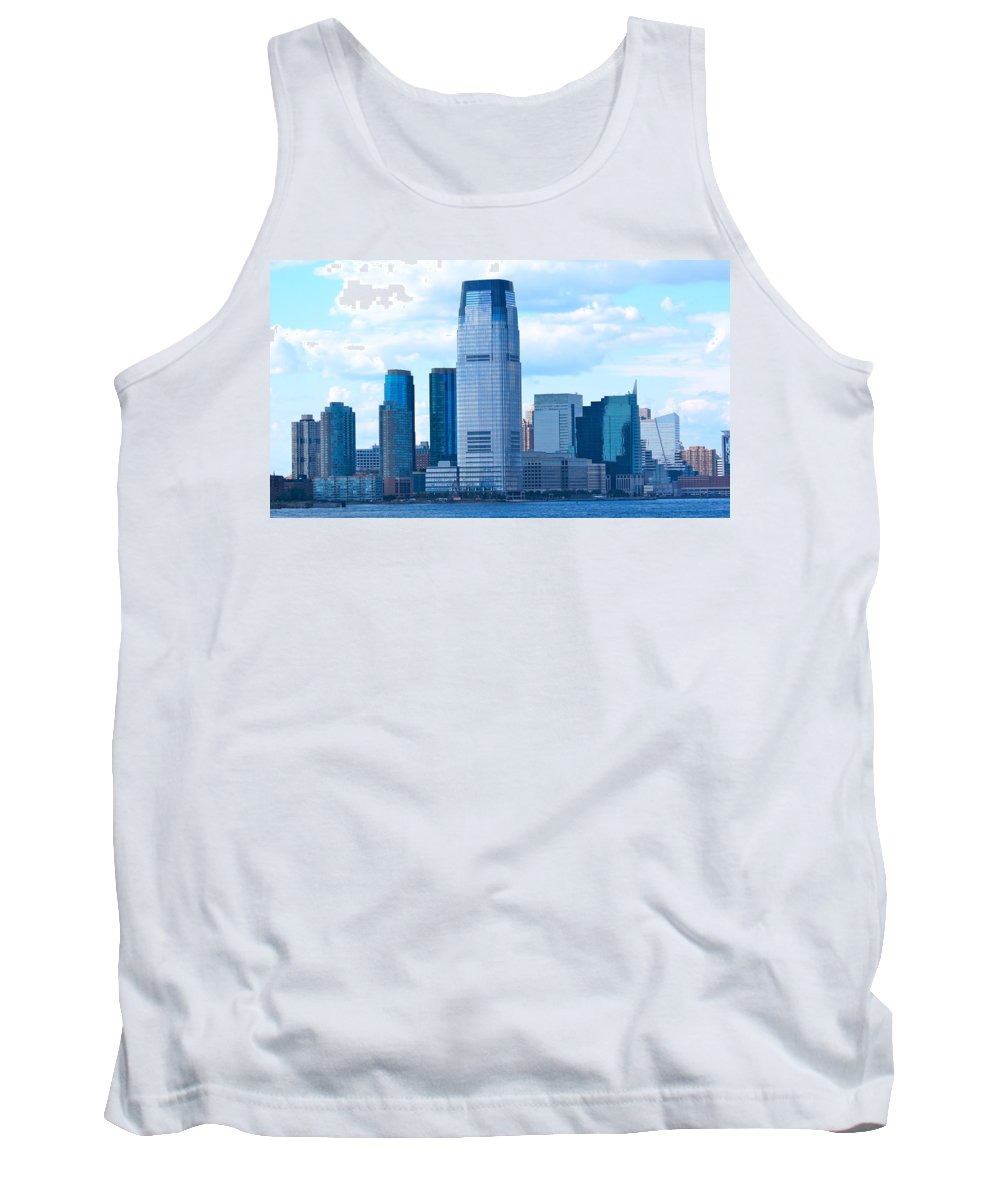 South Ferry Tank Top featuring the photograph South Ferry Water Ride10 by Terry Wallace