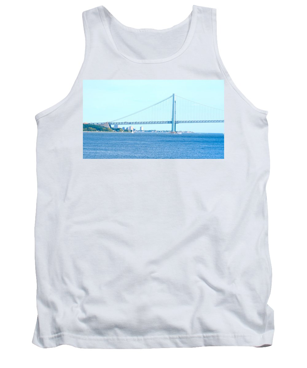 South Ferry Tank Top featuring the photograph South Ferry Water Ride25 by Terry Wallace