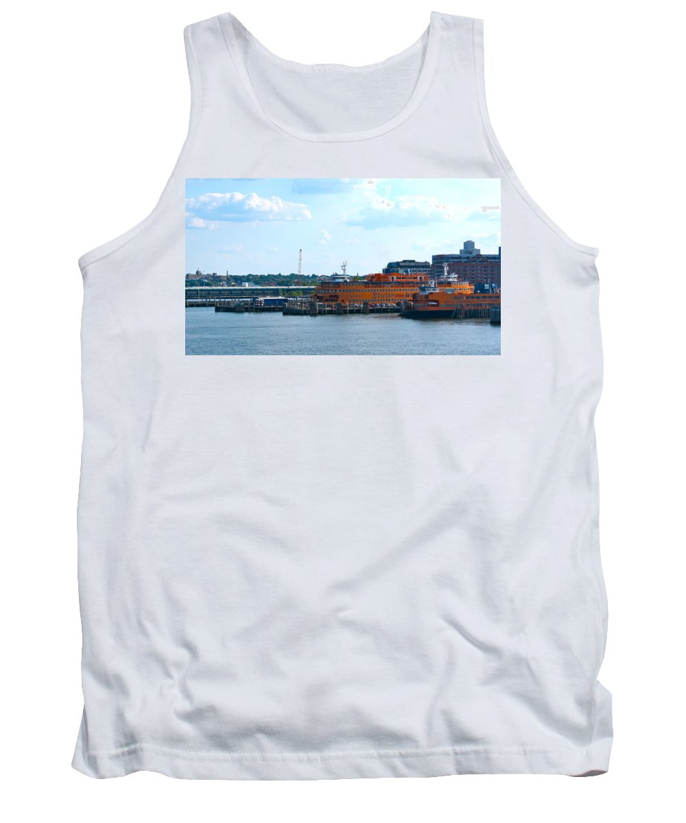 South Ferry Tank Top featuring the photograph South Ferry Water Ride26 by Terry Wallace