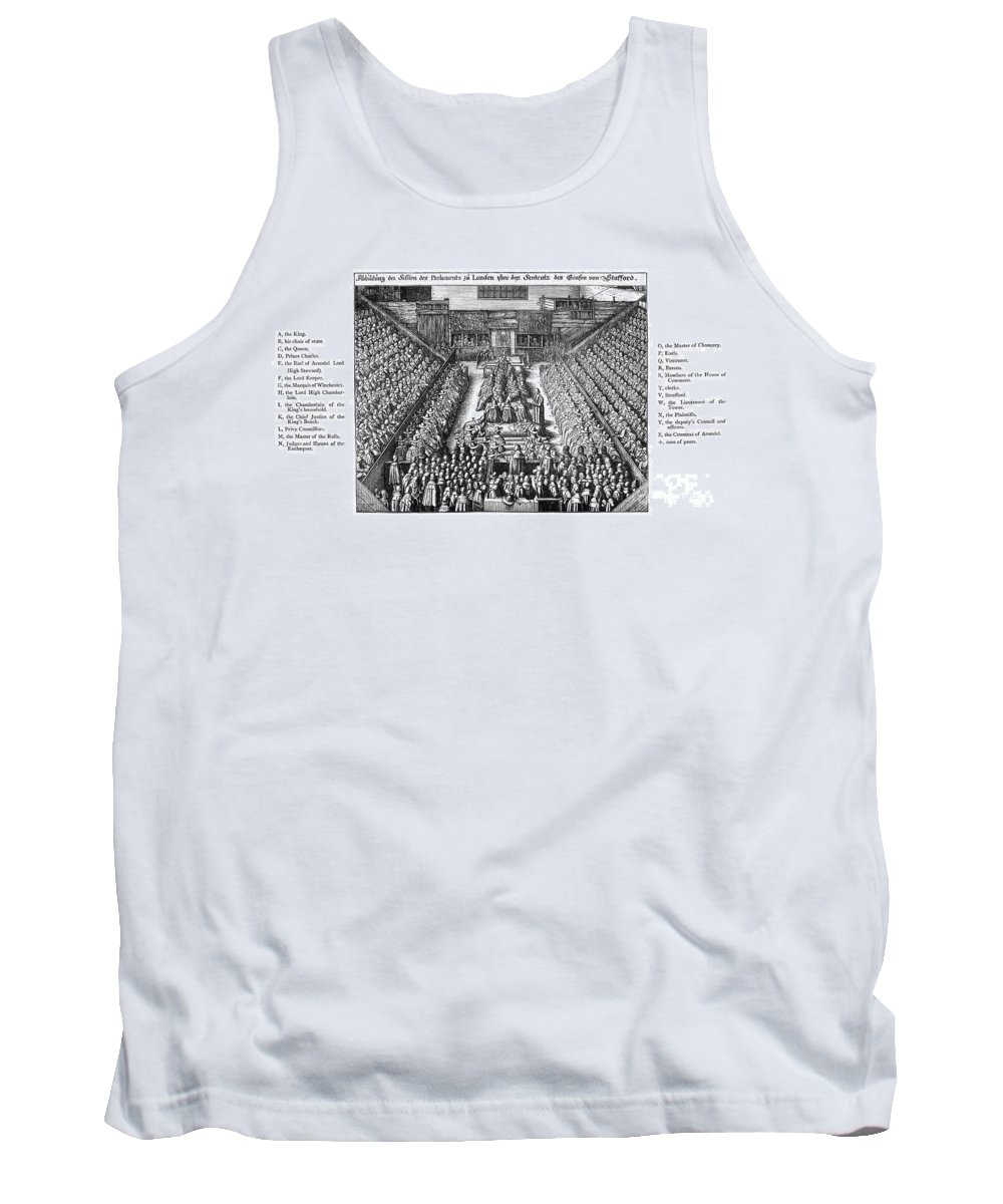1641 Tank Top featuring the photograph Strafford Trial, 1641 by Granger