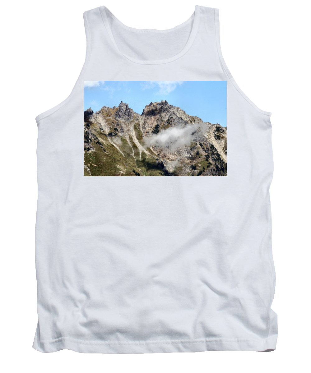 Sunny Tank Top featuring the photograph Sunny Mountain Afternoon by Michael Merry