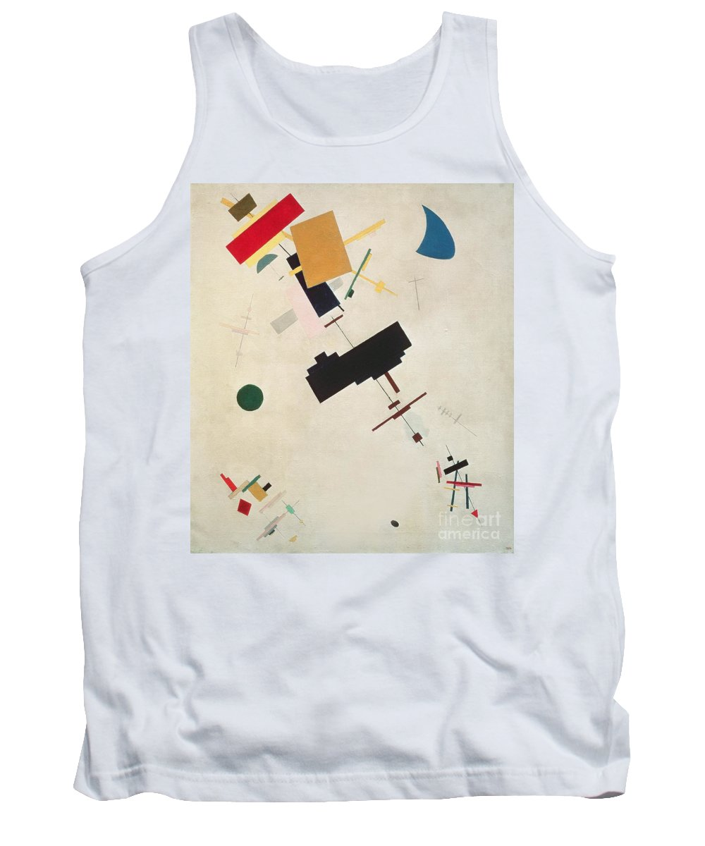 Suprematisme; Suprematism; Abstract; Constructivist; Geometric Tank Top featuring the painting Suprematist Composition No 56 by Kazimir Severinovich Malevich