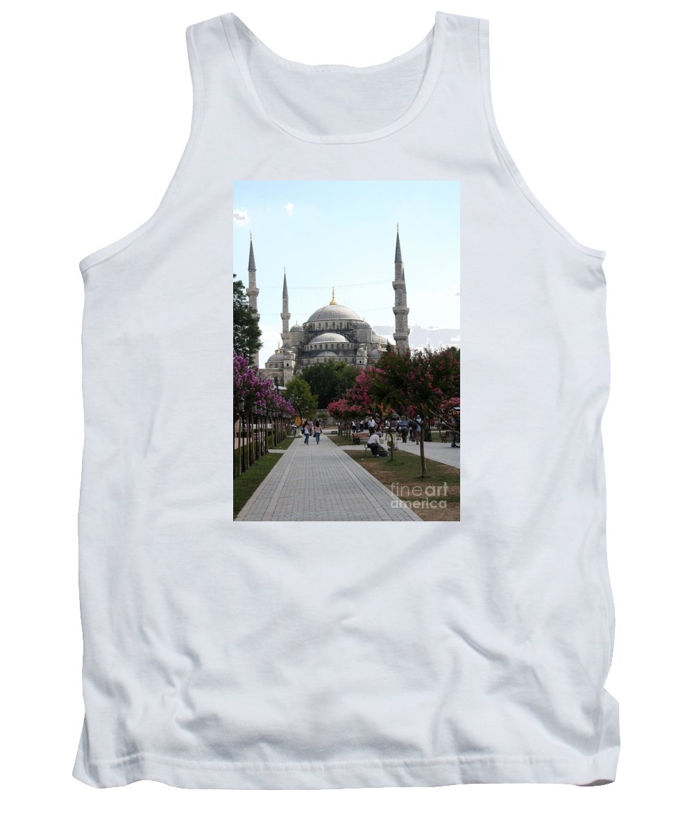 Sultan Ahmet Mosque Tank Top featuring the photograph The Blue Mosque - Istanbul by Christiane Schulze Art And Photography