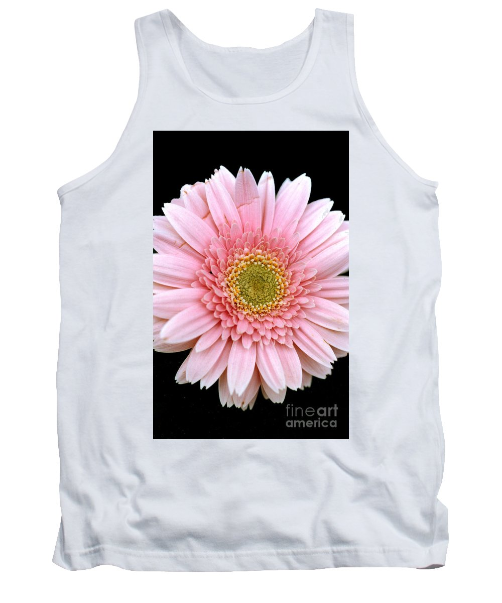 Flower Tank Top featuring the photograph The Pink Flower by Mike Nellums