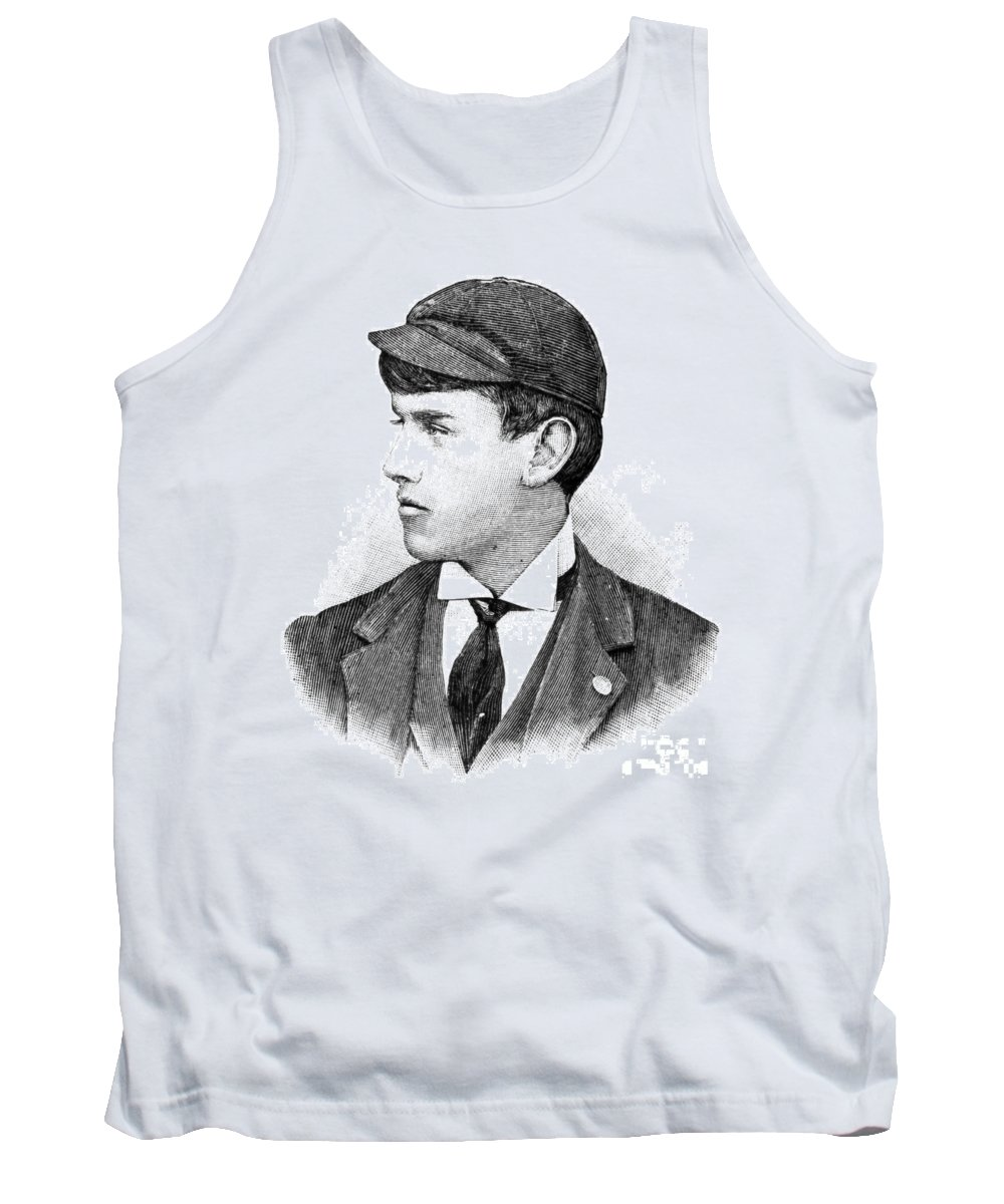 19th Century Tank Top featuring the photograph Thomas E. Burke by Granger