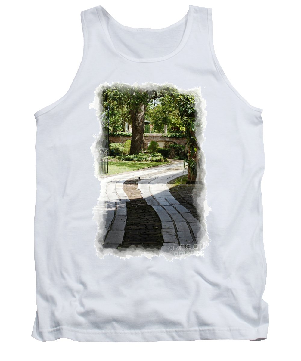 Pathways Tank Top featuring the photograph Through The Gates 1 by Donna Bentley
