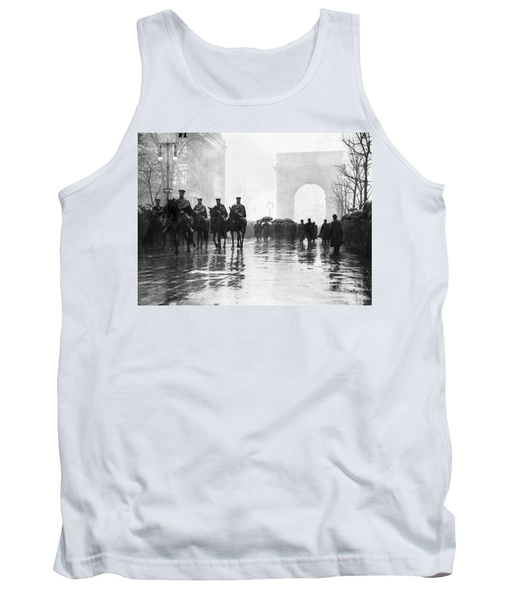 1911 Tank Top featuring the photograph Triangle Fire Memorial, 1911 by Granger