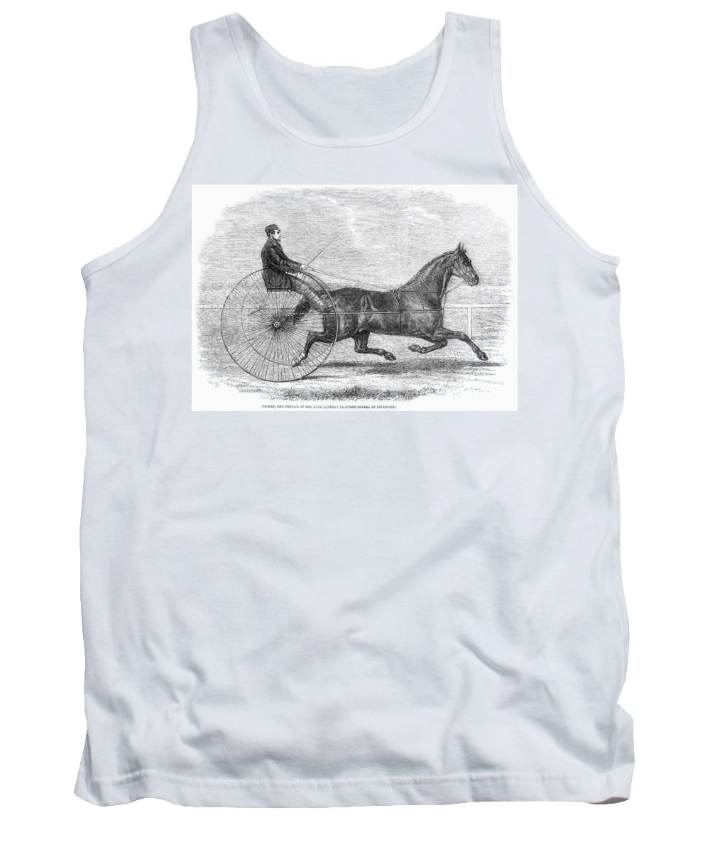 1861 Tank Top featuring the photograph Trotting Horse, 1861 by Granger