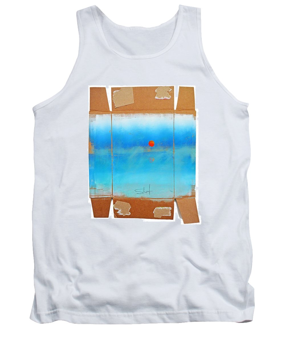 Seascape Tank Top featuring the digital art Turner Box by Charles Stuart