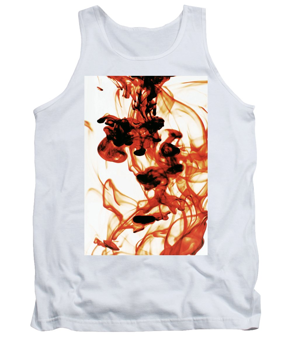 Abstract Tank Top featuring the photograph Volcanic Eruption by Sumit Mehndiratta