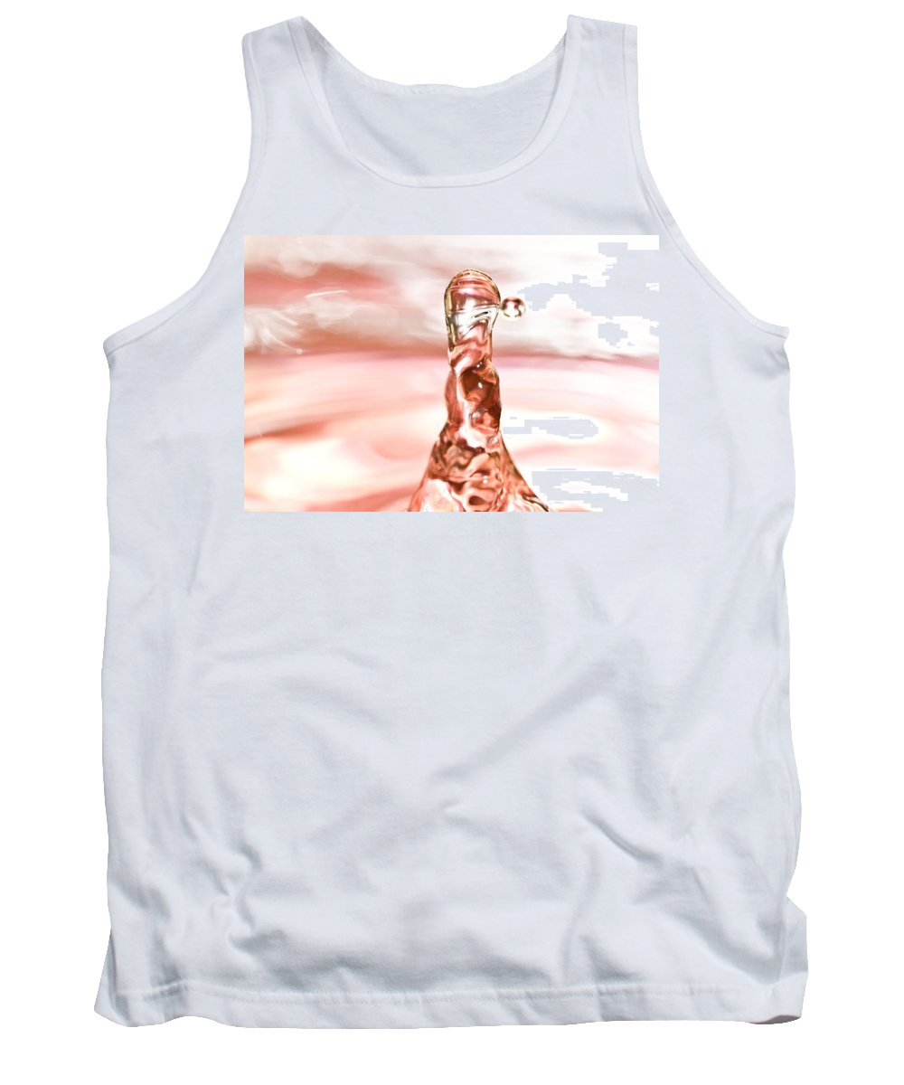 Water Drop Tank Top featuring the photograph Waterdrop7 by Danielle Silveira