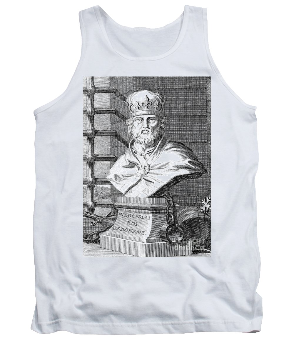 14th Century Tank Top featuring the photograph Wenceslaus (1361-1419) by Granger