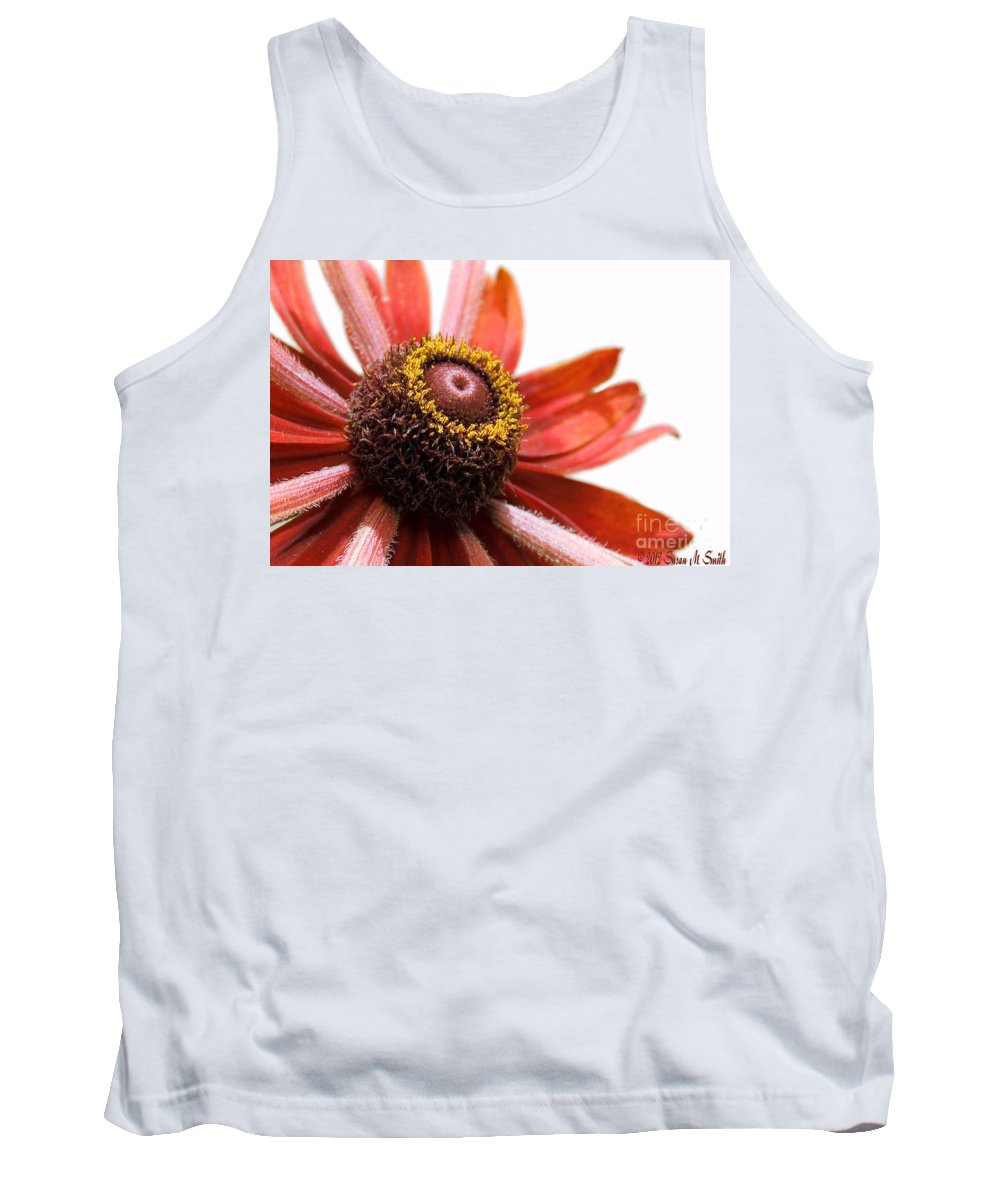 Flower Tank Top featuring the photograph Whirly Girly by Susan Smith