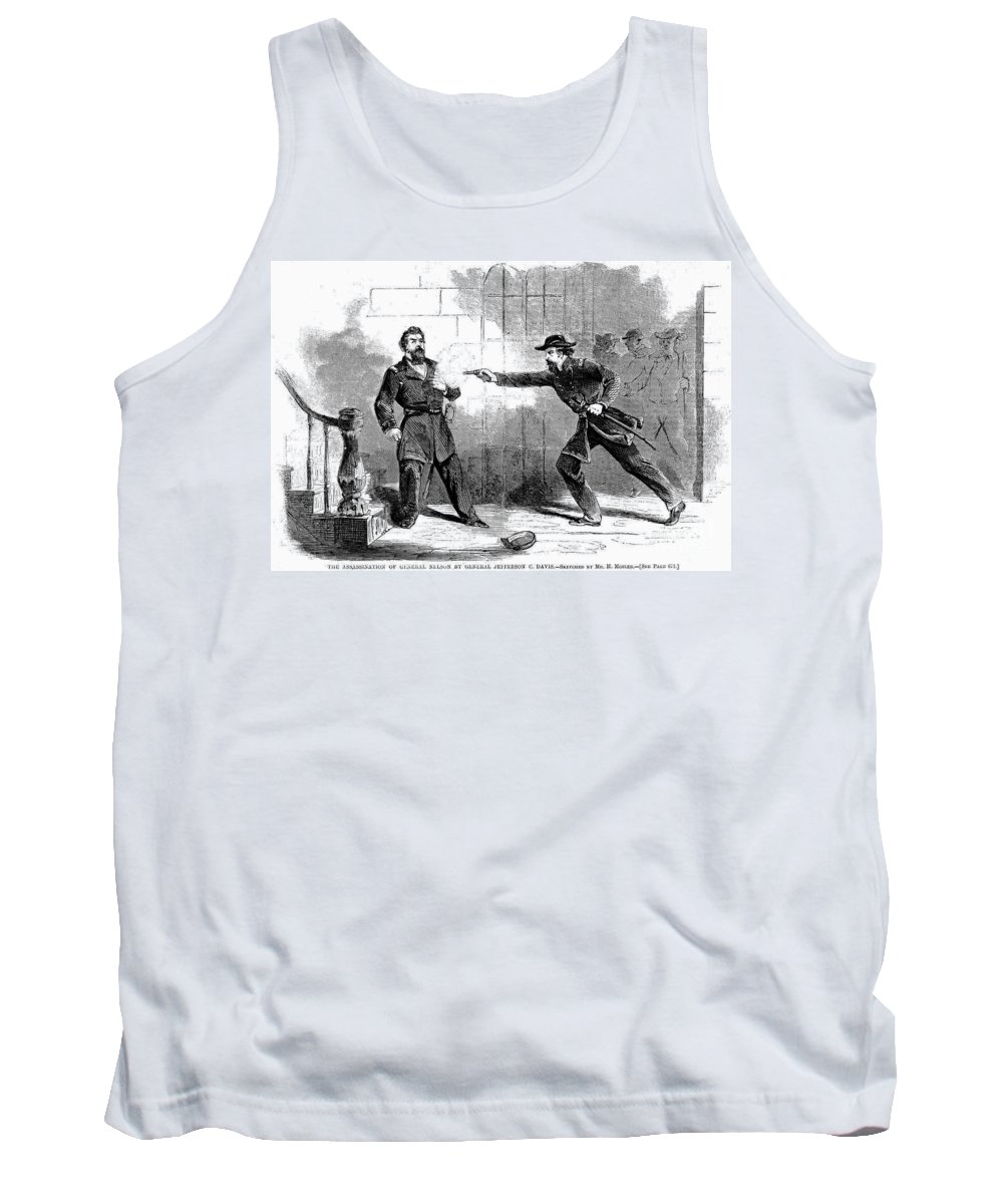 1862 Tank Top featuring the photograph William Bull Nelson by Granger