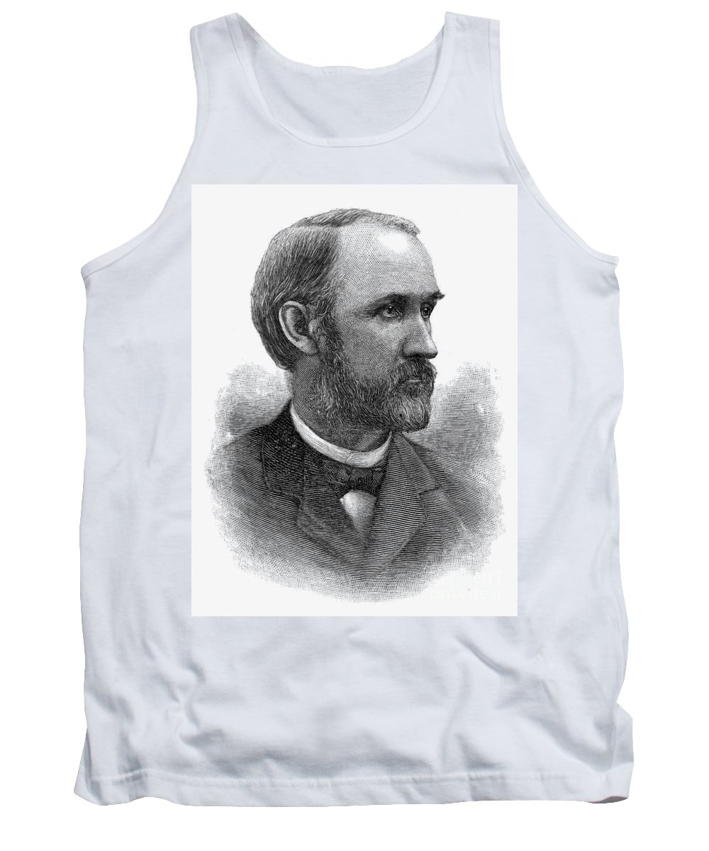 1889 Tank Top featuring the photograph William Miller (1840-1917) by Granger