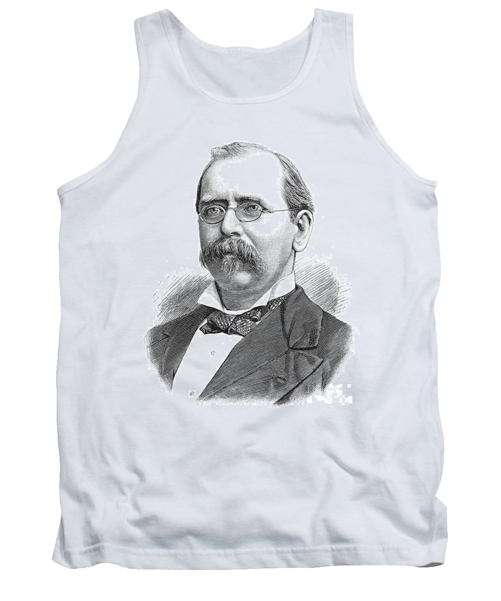 1880 Tank Top featuring the photograph William Russell Grace (1832-1904) by Granger