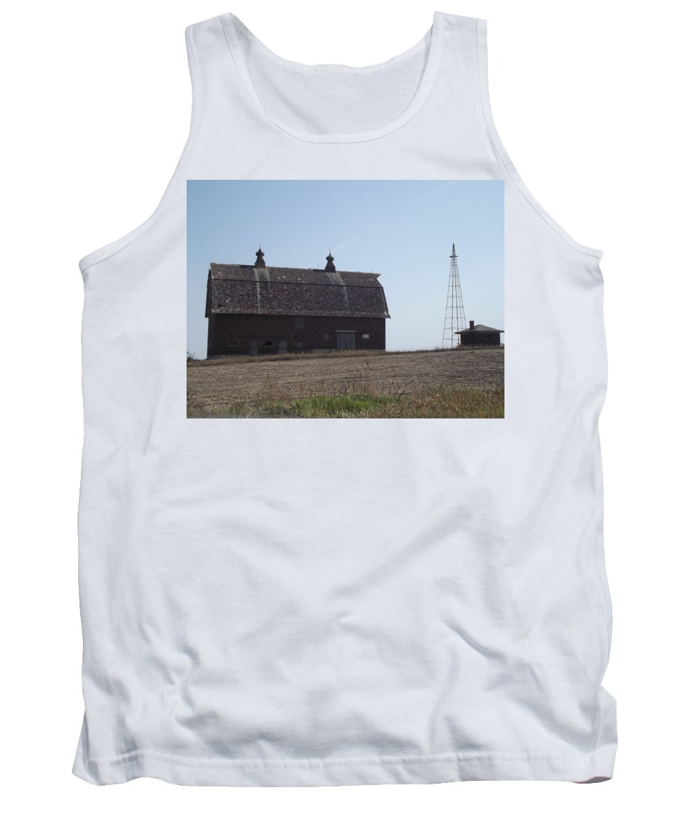 Barn Tank Top featuring the photograph Withstanding Time by Bonfire Photography