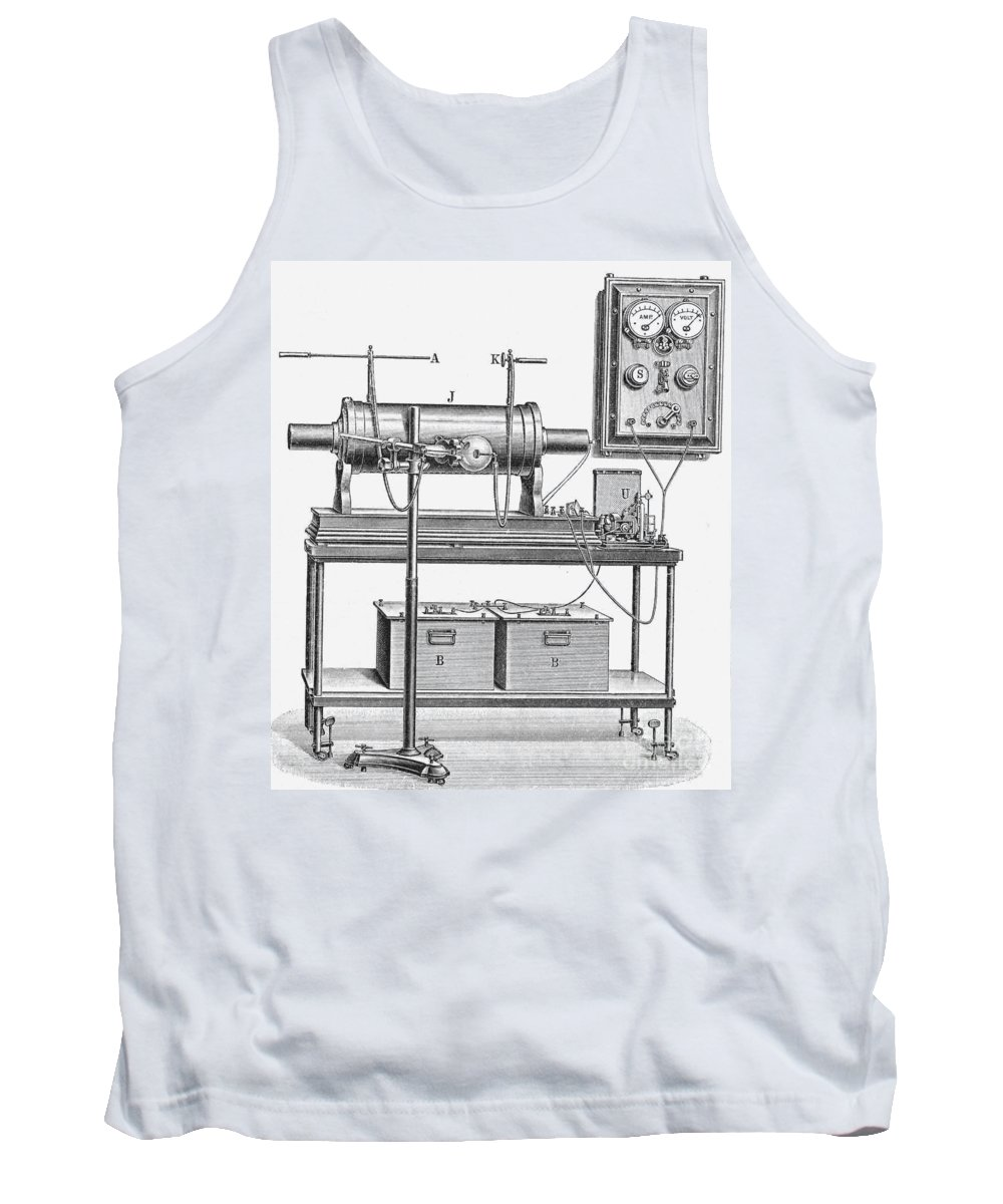 X-ray Tank Top featuring the photograph X-ray Machine by Photo Researchers