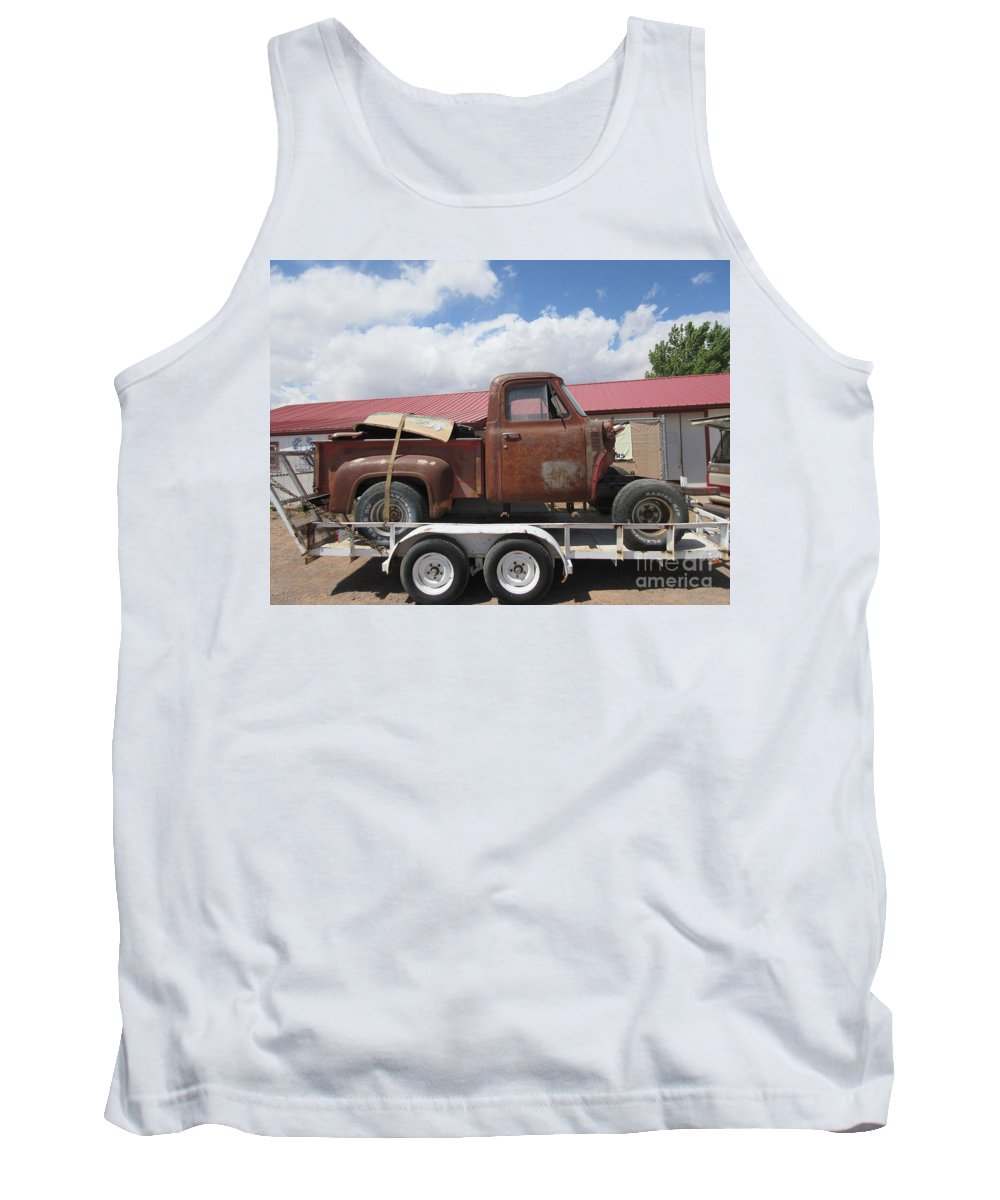 1953 Tank Top featuring the photograph 1953 Ford F-100 Truck by Frederick Holiday
